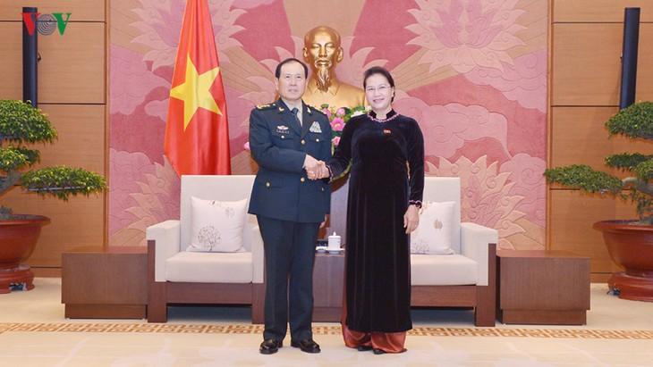 Расширение оборонного сотрудничества между Вьетнамом и Китаем - ảnh 1