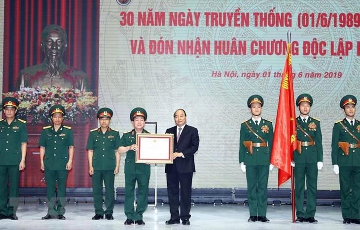 Премьер-министр Вьетнама принял участие в церемонии празднования 30-летия со дня создания корпорации Viettel - ảnh 1