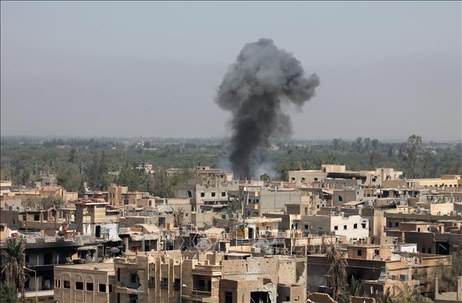 Израиль атаковал военные объекты Сирии  - ảnh 1