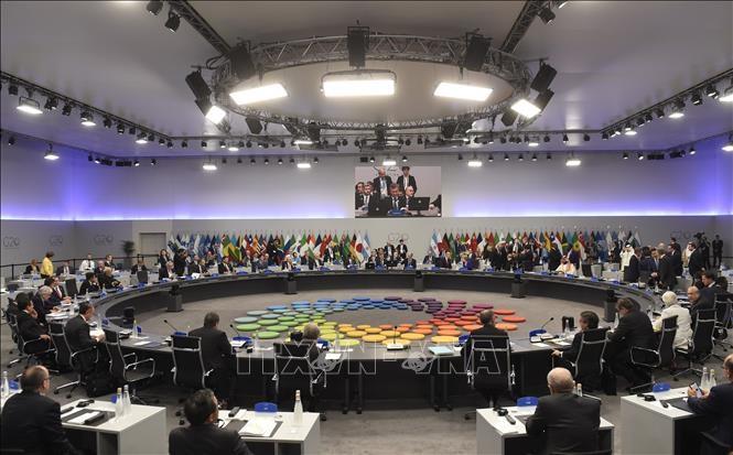 На встрече глав минфинов G20 будет поднят вопрос глобальных дисбалансов по счетам текущих операций - ảnh 1