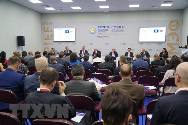 Вьетнам принимает участие в 23-м Петербургском международном экономическом форуме - ảnh 1