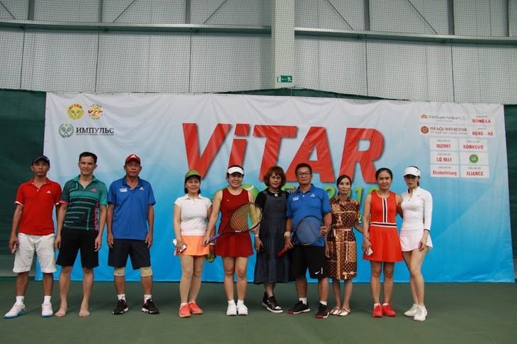 Теннисный турнир ViTAR – укрепление единства вьетнамцев в России и Европе - ảnh 1