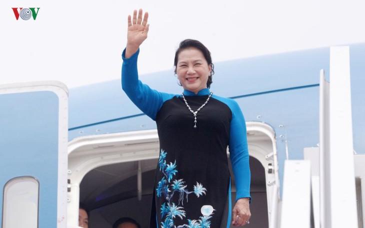 Председатель Нацсобрания СРВ успешно завершила официальный визит в Китай - ảnh 1