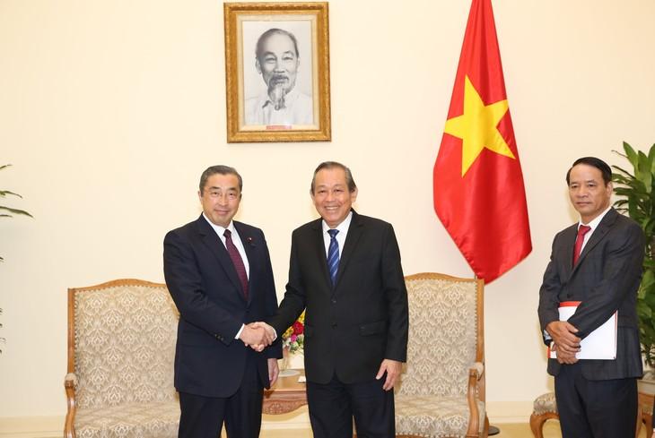 Укрепление отношений углубленного стратегического партнёрства между Вьетнамом и Японией - ảnh 1