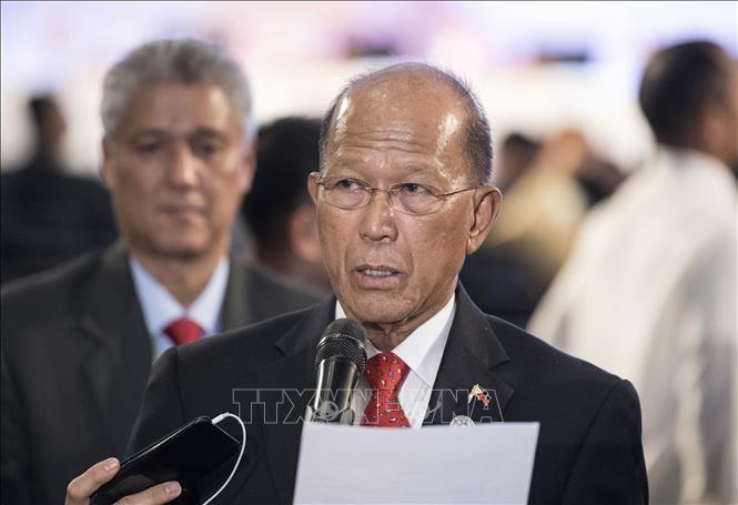 Министр обороны Филиппин раскритиковал действия Китая в районе Восточного моря - ảnh 1
