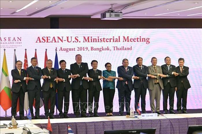 В рамках АММ-52 прошла конференция министров иностранных дел АСЕАН и США - ảnh 1
