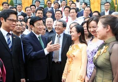 Doanh nhân Việt Nam đồng hành cùng sự phát triển đất nước - ảnh 1