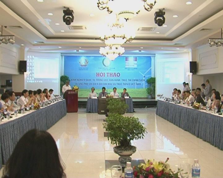 Việt Nam tham khảo kinh nghiệm quốc tế về ứng phó biến đổi khí hậu  - ảnh 1