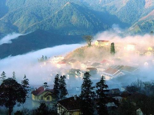 Sapa huyền ảo trong sương - ảnh 1