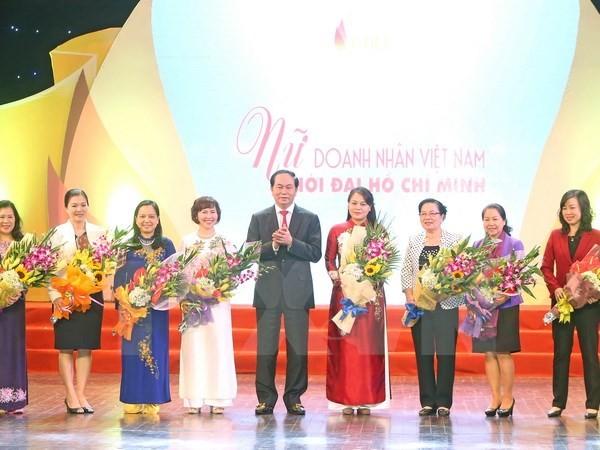 Chủ tịch nước dự chương trình giao lưu Nữ doanh nhân Việt Nam thời đại Hồ Chí Minh - ảnh 1