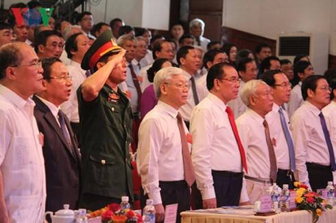 Kỷ niệm trọng thể 110 năm ngày sinh Tổng Bí thư Hà Huy Tập  - ảnh 1