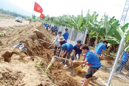 Tuổi trẻ Yên Bái chung sức xây dựng nông thôn mới - ảnh 1