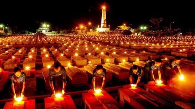 Nhiều hoạt động ý nghĩa kỷ niệm 69 năm Ngày Thương binh - Liệt sỹ tại các địa phương - ảnh 1