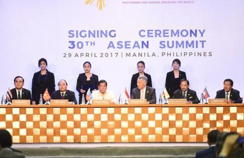 Bế mạc Hội nghị cấp cao ASEAN lần thứ 30 - ảnh 1