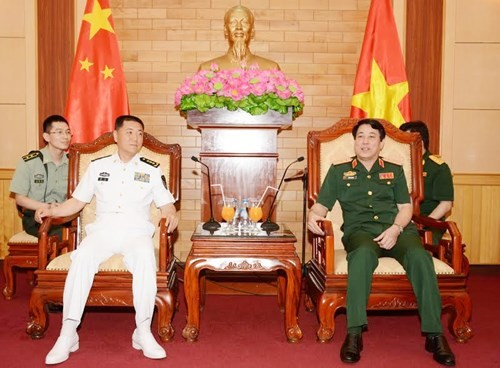 Hải quân hai nước Việt Nam, Trung Quốc tăng cường hợp tác - ảnh 1