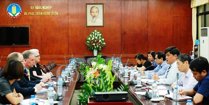 Việt Nam đẩy mạnh hợp tác với Hoa Kỳ trong lĩnh vực nông nghiệp - ảnh 1