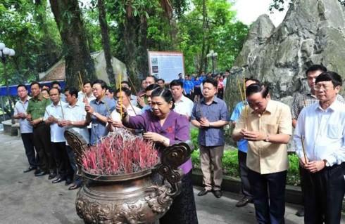 Phó Chủ tịch Quốc hội Tòng Thị Phóng thăm và làm việc tại Thái Nguyên  - ảnh 1