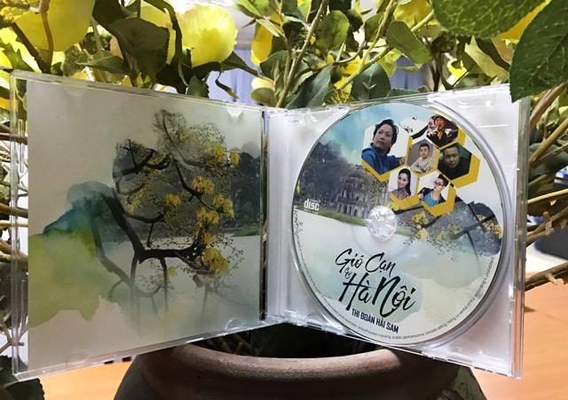 """Album """"Gió cạn và Hà Nội"""" - hồn quê của Thi Đoàn Hải Sam - ảnh 1"""