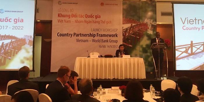 Nhóm Ngân hàng Thế giới công bố Khung đối tác quốc gia với Việt Nam giai đoạn 2017 - 2022 - ảnh 1