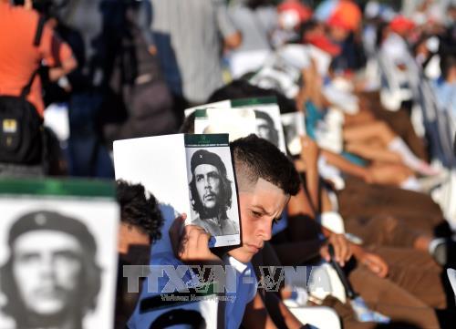 """Cuba kỷ niệm 50 năm ngày """"Che"""" Guevara hy sinh - ảnh 1"""
