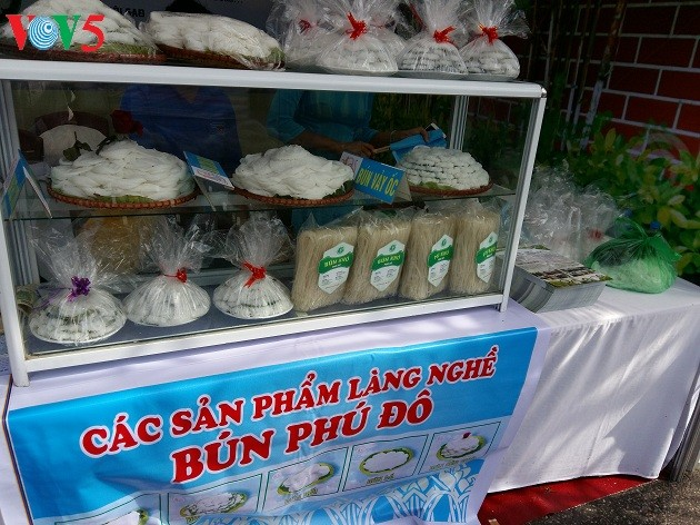 Nghề làm bún ở làng Phú Đô - ảnh 1
