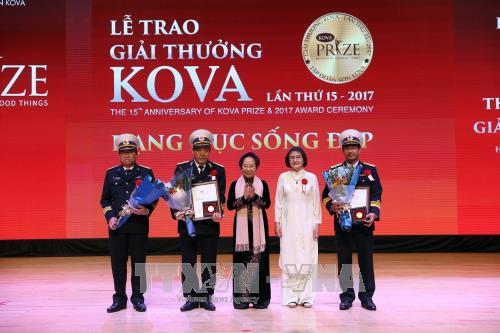 Giải thưởng KOVA lần thứ 15 vinh danh 2 công trình và nhiều tấm gương - ảnh 1