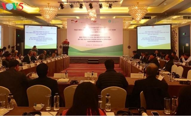 Đánh giá giữa kỳ thực hiện tăng trưởng xanh Việt Nam khu vực miền Bắc - ảnh 1