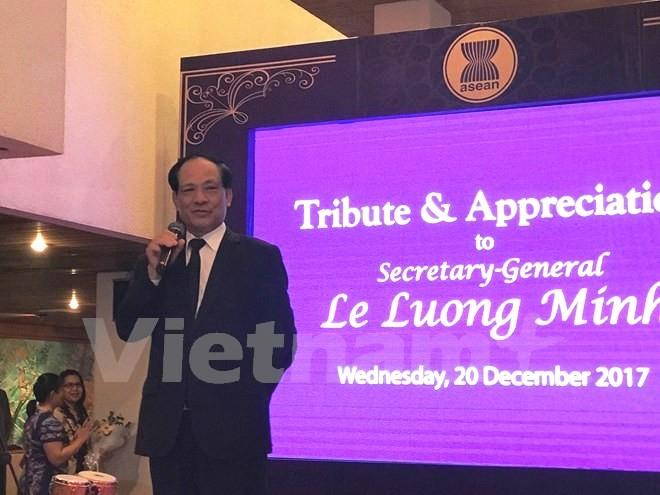Ông Lê Lương Minh chuẩn bị kết thúc nhiệm kỳ Tổng Thư ký ASEAN - ảnh 1