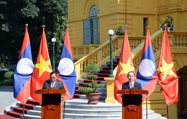 Tổng Bí thư, Chủ tịch nước Lào Bounnhang Vorachith kết thúc chuyến thăm hữu nghị chính thức Việt Nam - ảnh 1