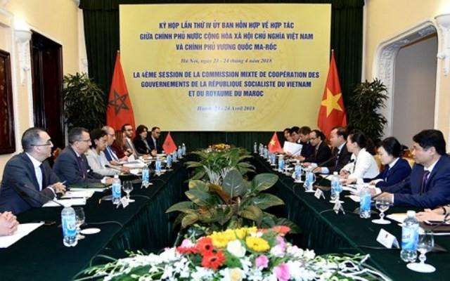 Ủy ban hỗn hợp và Tham vấn chính trị Việt Nam – Maroc - ảnh 1