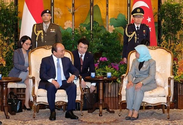 Tuyên bố chung Việt Nam-Singapore - ảnh 2