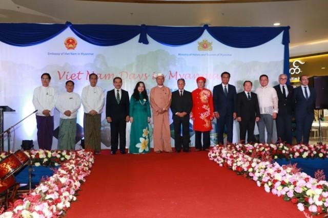 """""""Những ngày Việt Nam"""" lần đầu tiên được tổ chức tại Myanmar - ảnh 1"""
