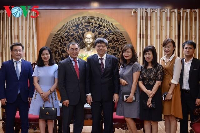 Tăng cường hợp tác giữa Việt Nam và Kazakhstan trong lĩnh vực báo chí - ảnh 2