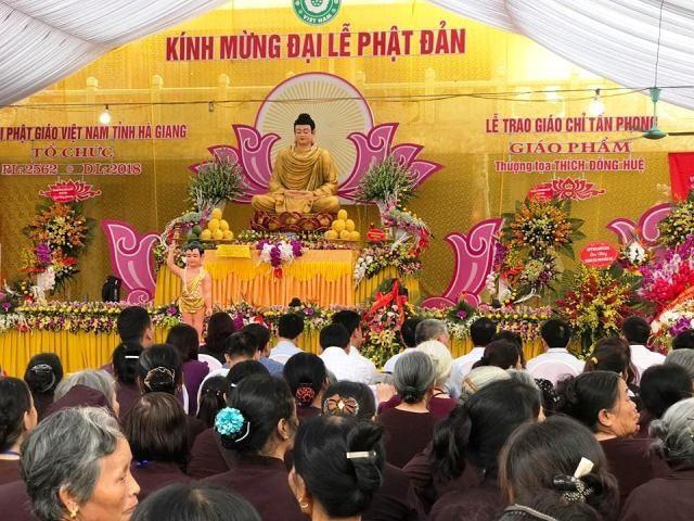 Mừng Đại lễ Phật đản năm 2018 - Phật lịch 2562 - ảnh 1