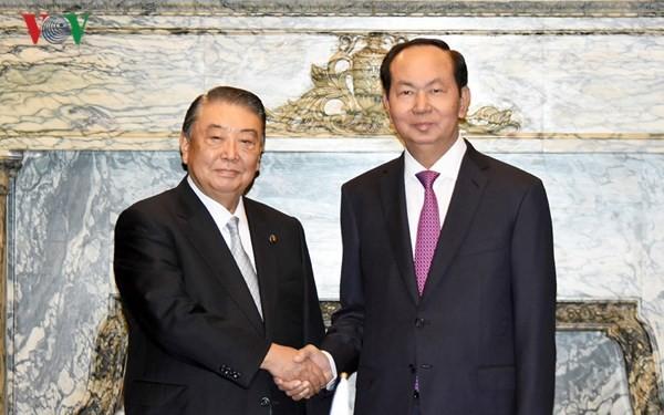 Chủ tịch nước hội kiến Chủ tịch Hạ viện Nhật Bản, tiếp Chủ tịch JICA - ảnh 1