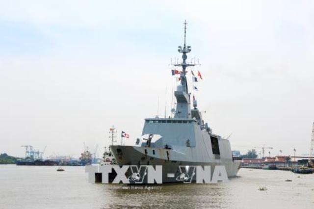 Tàu Hải quân Pháp thăm hữu nghị Thành phố Hồ Chí Minh - ảnh 2