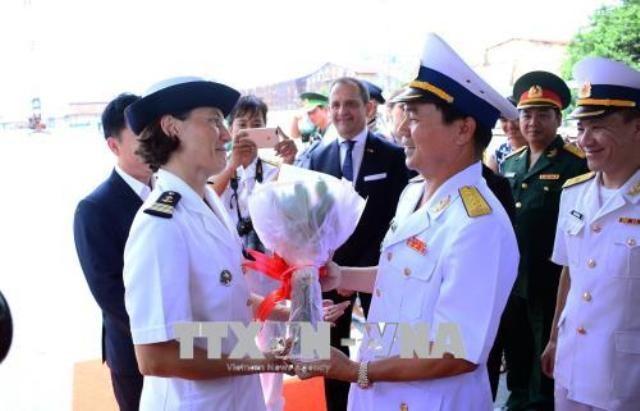 Tàu Hải quân Pháp thăm hữu nghị Thành phố Hồ Chí Minh - ảnh 1