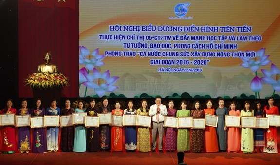 Tôn vinh 150 điển hình tiên tiến trong học tập và làm theo Chủ tịch Hồ Chí Minh - ảnh 1