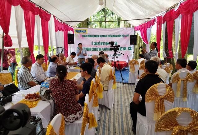 Thành lập Trung tâm Nghiên cứu bảo tồn và phát triển Hoa lan Việt Nam - ảnh 1