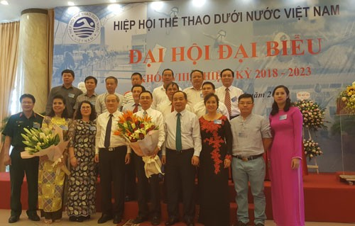 Đại hội đại biểu Hiệp hội Thể thao dưới nước Việt Nam nhiệm kỳ 2018-2023 - ảnh 1