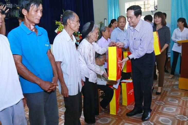 Chủ tịch Ủy ban Trung ương Mặt trận Tổ quốc Trần Thanh Mẫn thăm và làm việc tại tỉnh Phú Thọ - ảnh 1