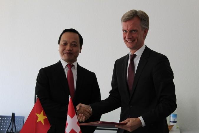Việt Nam và Thụy Sĩ tăng cường hợp tác trong lĩnh vực tư pháp - ảnh 1