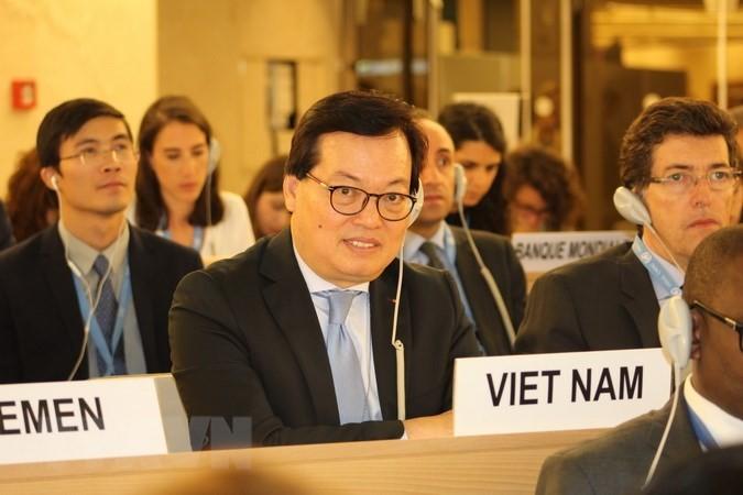 Việt Nam tích cực tham gia khóa họp thường kỳ lần thứ 38 Hội đồng Nhân quyền Liên hợp quốc - ảnh 1