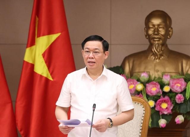 Phó Thủ tướng Vương Đình Huệ chủ trì cuộc họp Ban chỉ đạo điều hành giá - ảnh 1