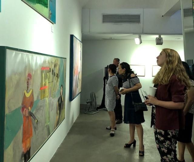 """Triển lãm """"Muối của rừng"""" kỷ niệm 25 năm quan hệ ngoại giao Việt Nam - Hàn Quốc - ảnh 1"""