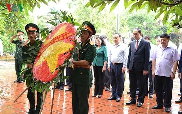 Chủ tịch nước Trần Đại Quang thăm và làm việc tại tỉnh Hưng Yên - ảnh 1