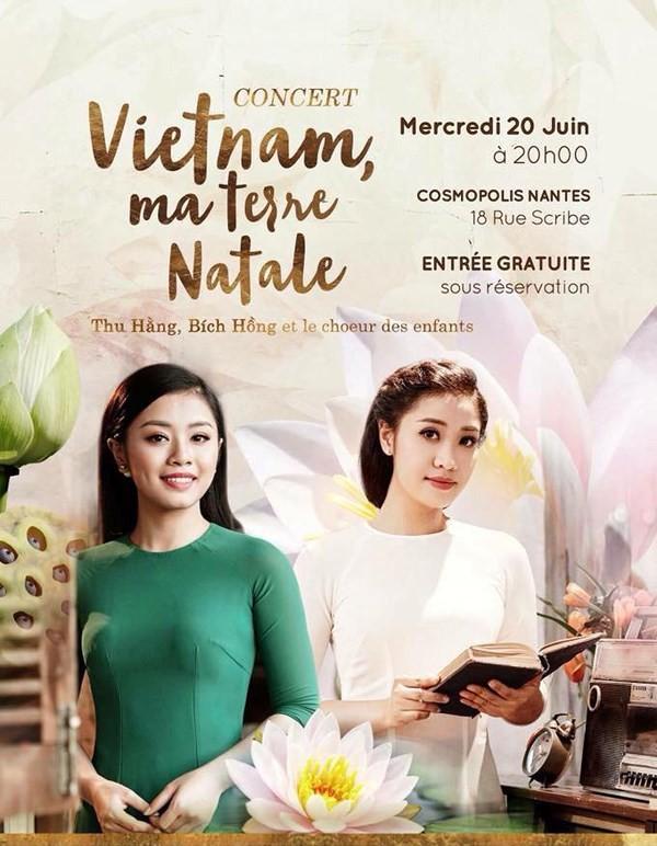"""""""Việt Nam quê hương tôi"""" mang âm nhạc Việt Nam tới Pháp - ảnh 1"""