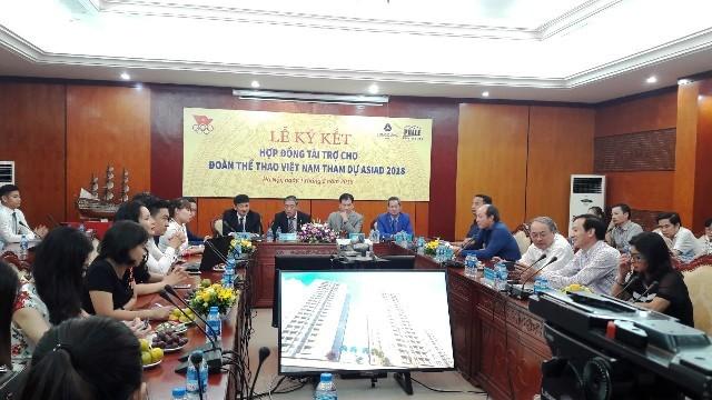 Doanh nghiệp đồng hành cùng thể thao Việt Nam tại ASIAD 18 - ảnh 1