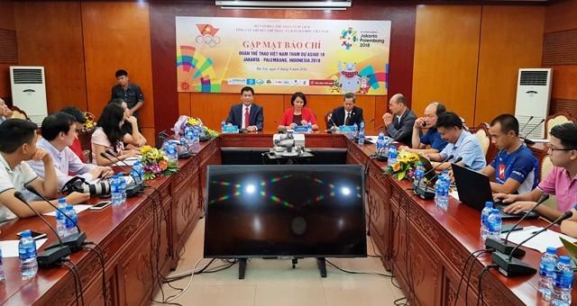 Việt Nam phấn đấu giành tối thiểu 3 huy chương vàng tại ASIAD 18 - ảnh 1