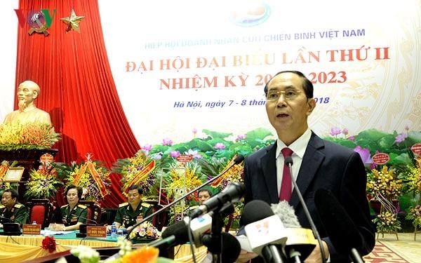 Đại hội đại biểu Hiệp hội doanh nhân cựu chiến binh Việt Nam lần 2 - ảnh 1